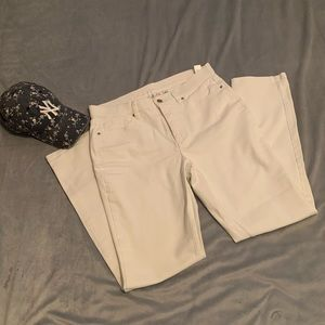 Denim&Co white jeans
